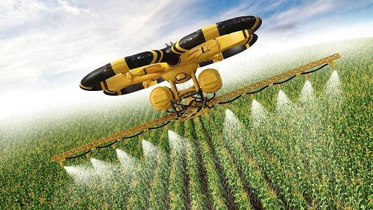 Wat is een Landbouw drone?