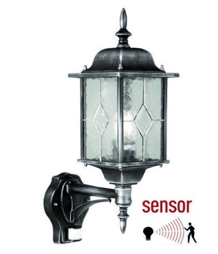 wandlampen buiten met sensor