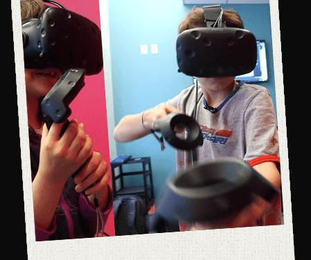 Virtual Reality Feestje